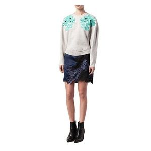 3.1 Phillip Lin Embroidered Lace Sweatshirt